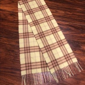 Authentic cashmere Burberry mini scarf
